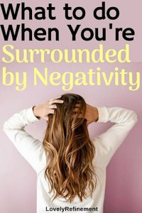 what to do when surrounded by negative people