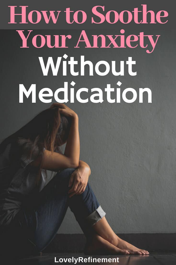 Learning how to manage your anxiety doesn't always mean you have to take medication. There are other things you can start doing today to help reduce your anxiety levels. This is helpful for people who don't want to go on medications, or who would prefer to try other alternatives.