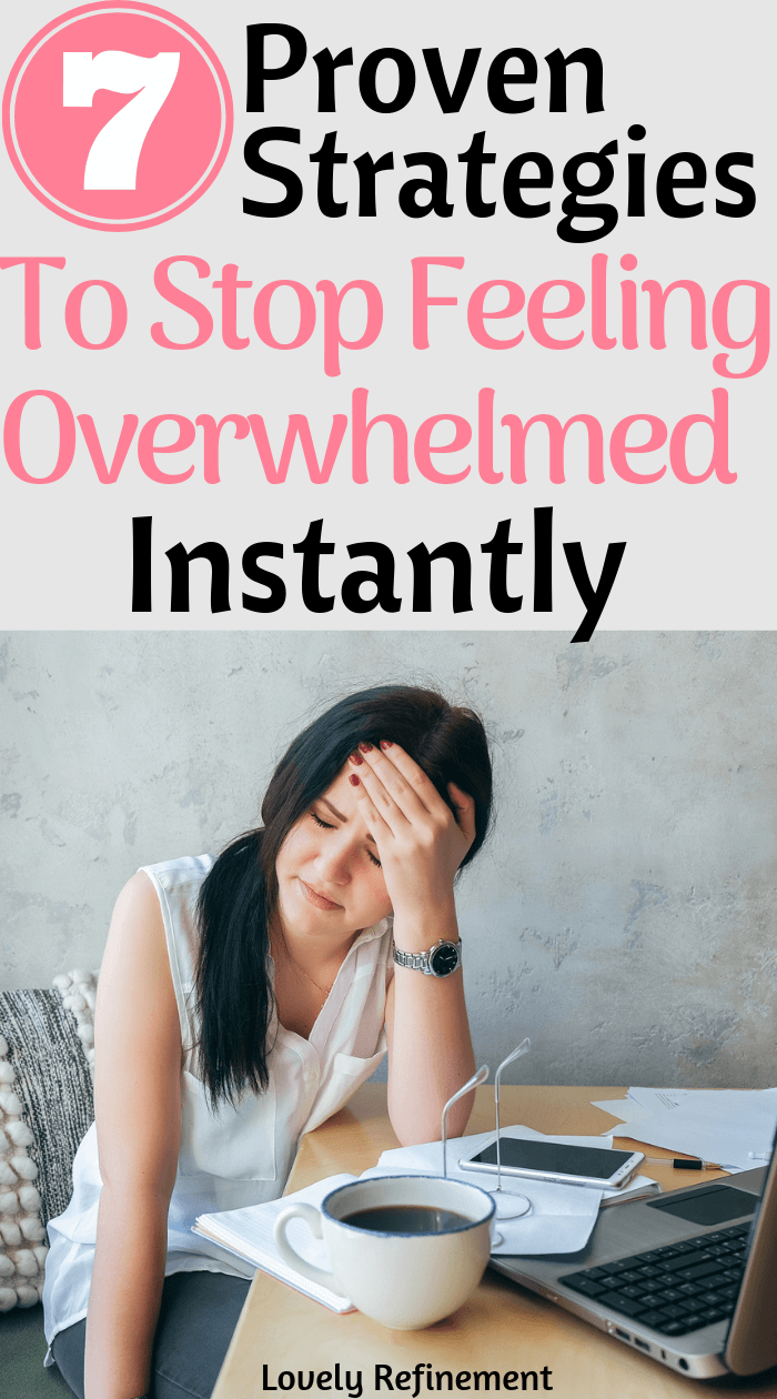 Feeling overwhelmed with life? Here are some tips for dealing with feeling overwhelmed. Whether that's at work or just emotionally feeling overwhelmed. Here's how you can instantly stop feeling overwhelmed.