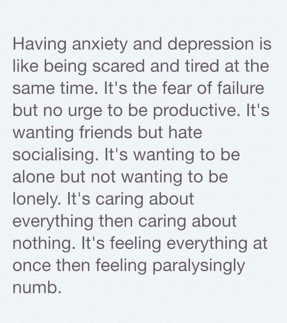 anxiety and depression quotes