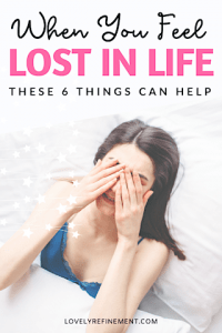Help for when you feel lost in life
