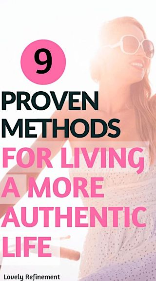methods for living an authentic life
