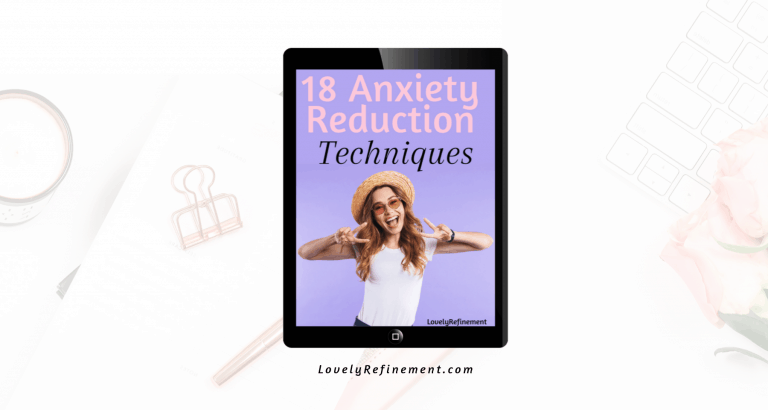 18 Anxiety Reduction Techniques Book