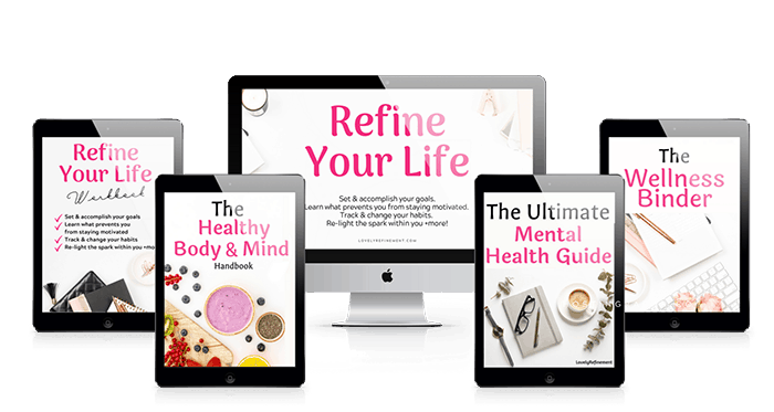 Refine your life purpose course mental wellness bundle