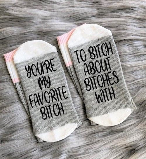 funny gifts for best friends biches