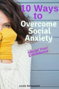 ways to overcome social anxiety at parties