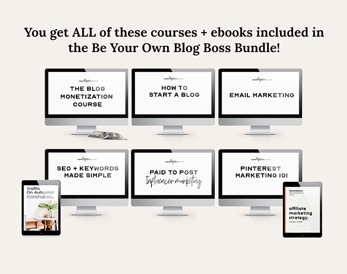 best blogging course affiliate marketing for bloggers