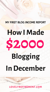blog income report lifestyle blogger money blogging