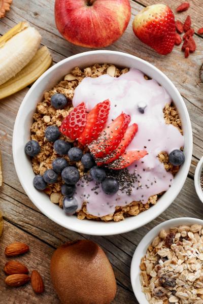 health breakfast self care